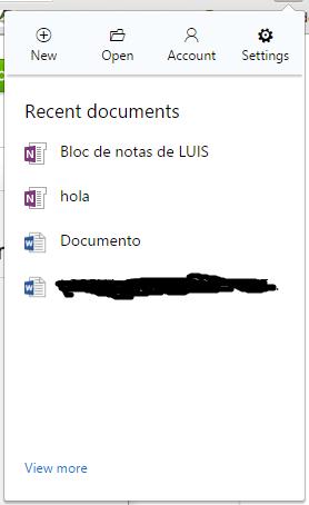 Extensión de Office Online