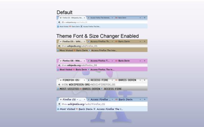 Theme Font & Size Changer