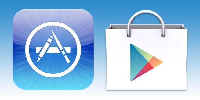 App Store y Google Play, los mercados más importantes