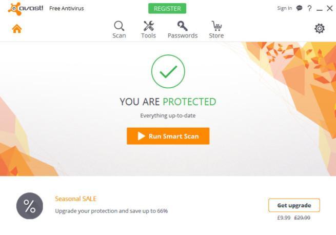 Avast 2016, antivirus gratuitos