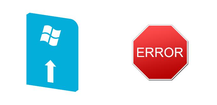 Error al actualizar Windows