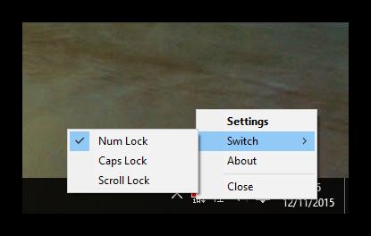Opciones de Keyboard LEDs