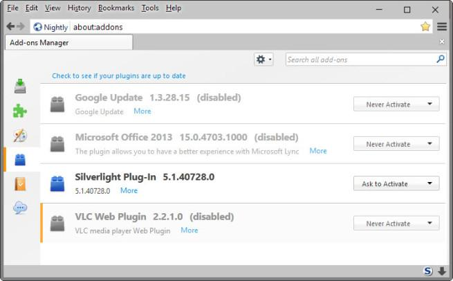 Plugin de Silverlight