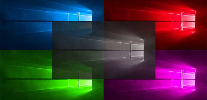 Colores en Windows 10