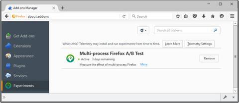 Firefox Beta prueba de Electrolysis