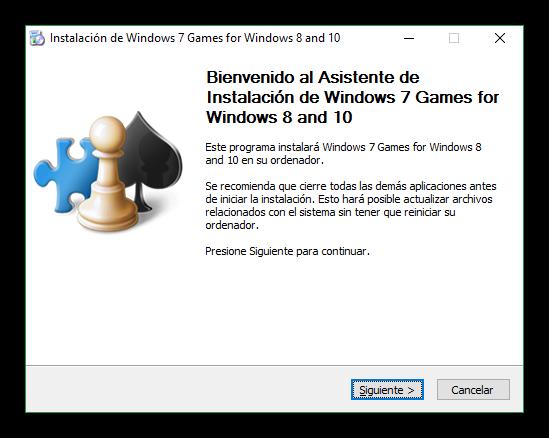 Instalar juegos clásicos en Windows 10