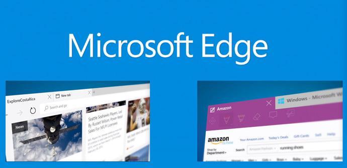 Microsoft Edge, el nuevo navegador de Windows 10