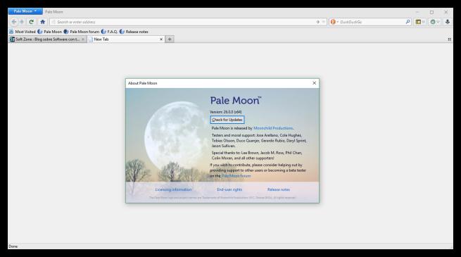 Pale Moon 26.0