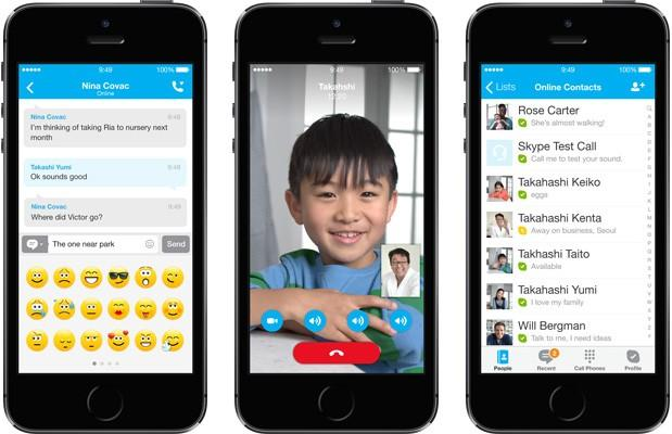 Skype en el iPhone