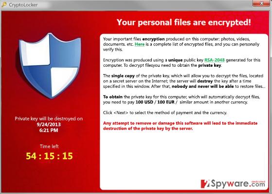 Cryptowall 3.0