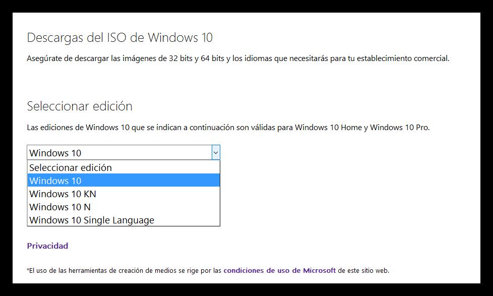 descargar win 7 64 bits español