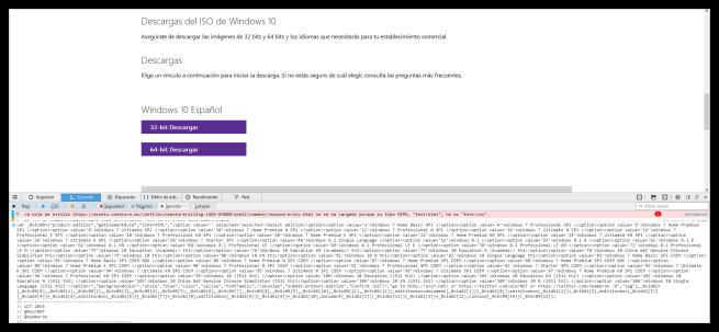 Script para habilitar descarga de Windows 7 o Windows 8.1
