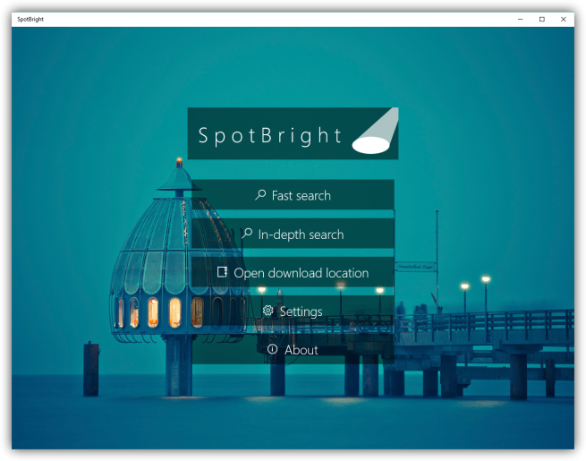 Spotbright - descargar fotos Spotlight