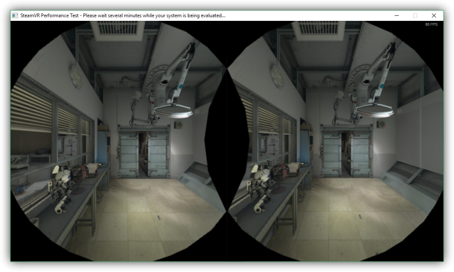 SteamVR Performance Test - benchmak de realidad virtual