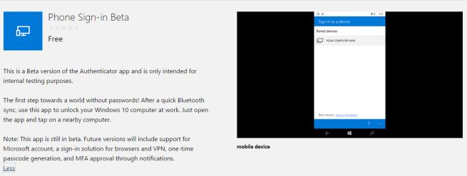 App para Windows 10