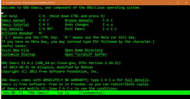 Bash de Linux