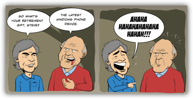 Windows Phone y Steve Ballmer