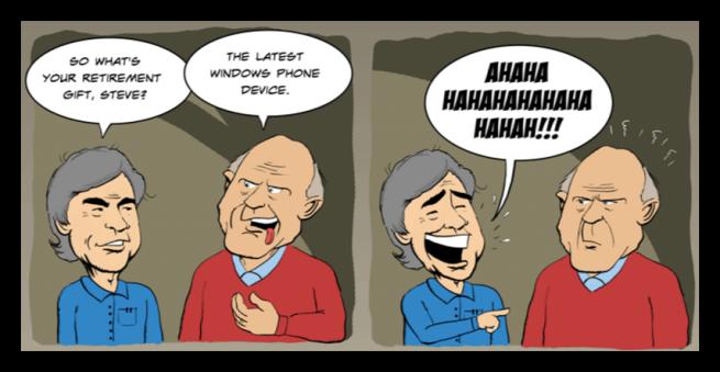 Windows Phone y Steve Ballmer