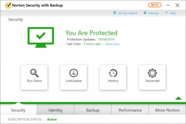 Norton Security 2017 de Symantec