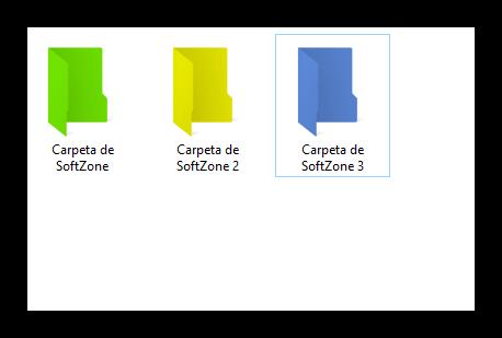 Carpetas de colores en Windows - Folder Colorizer