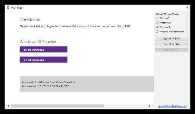 Windows ISO Downloader - Descargar ISOs