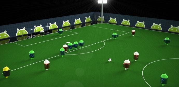 Android y las apps de fútbol