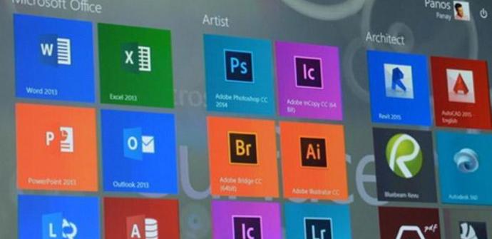 Aplicaciones Adobe Modern