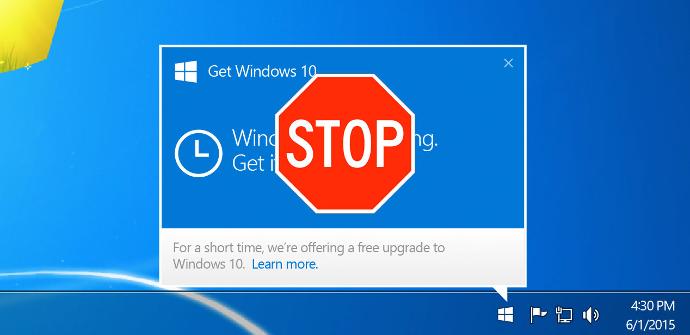 Bloquear actualización Windows 10