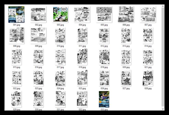Free Manga Downloader - Manga descargado