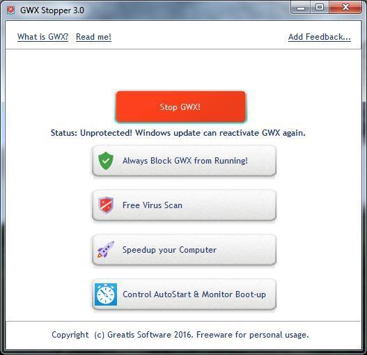 GWX Stopper 3.0