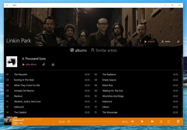 VLC versión beta