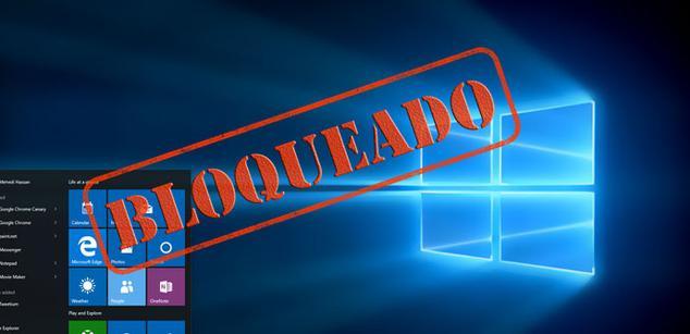 Windows 10 bloqueado