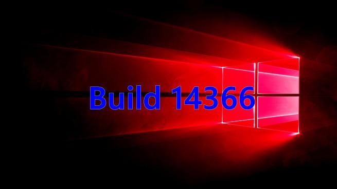 Build 14366 Windows 10