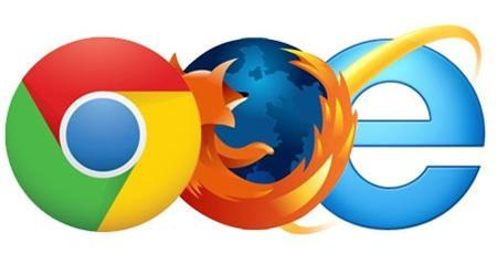 Chrome Firefox Internet Explorer