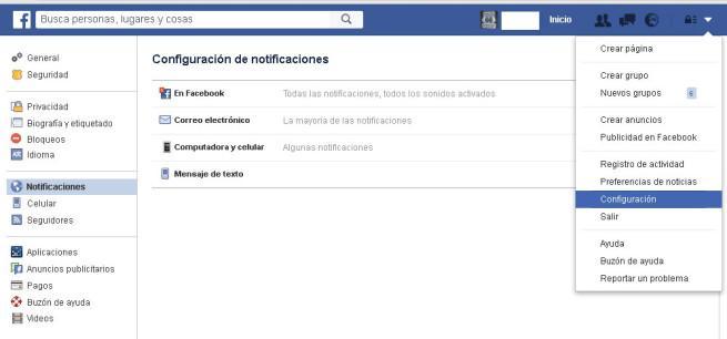 Vídeos en vivo de Facebook
