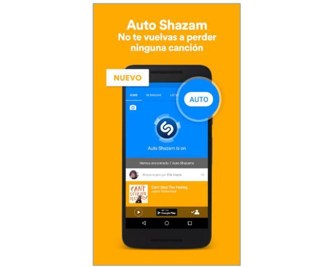 Modo Automático Shazam