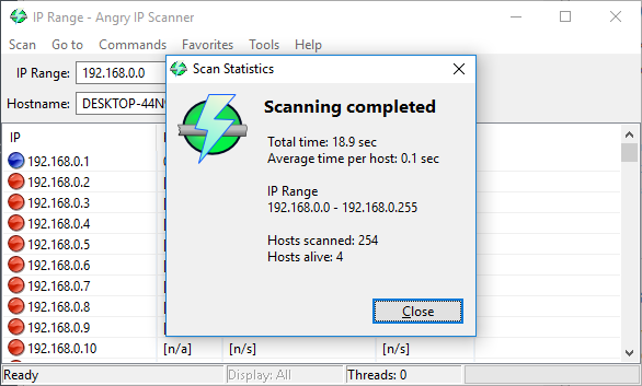 Angry IP Scaner