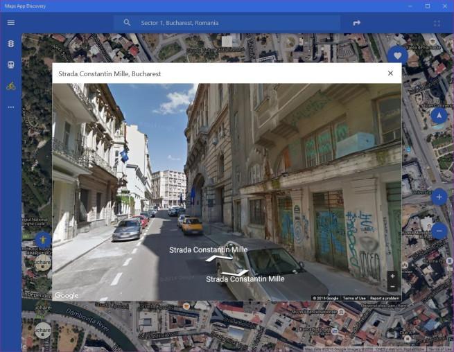 Maps App Discovery para Windows 10