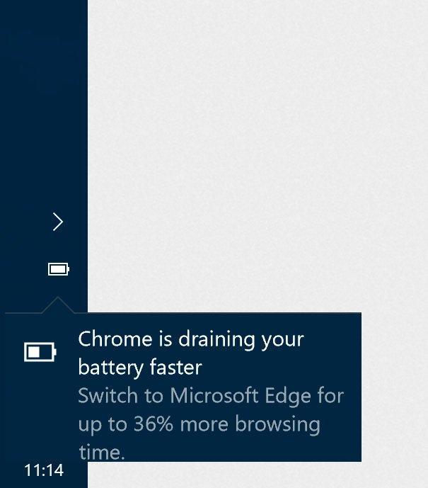 Mensaje de Microsoft respecto