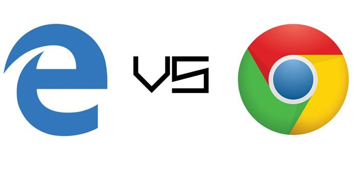 Microsoft Edge contra Google Chrome