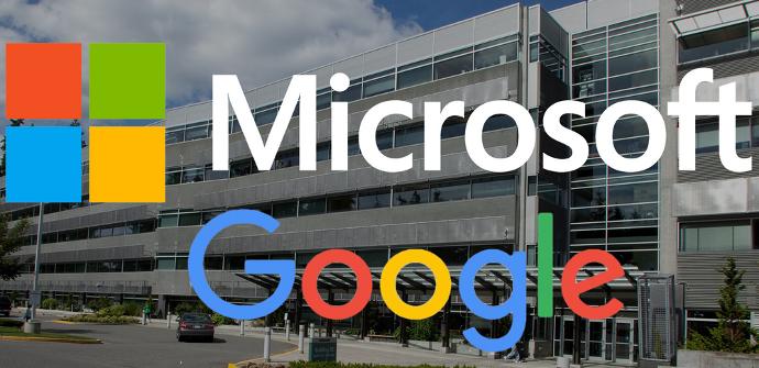 Microsoft y Google