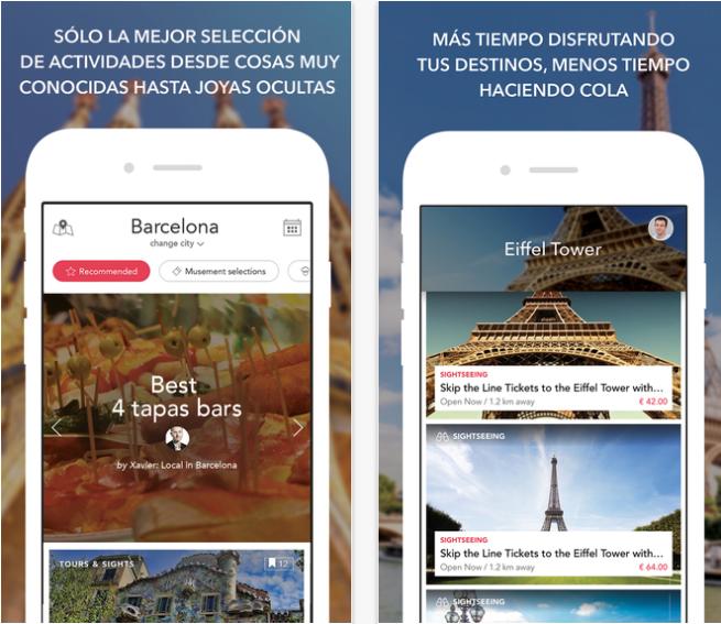 Musement, perfecta app para las vacaciones