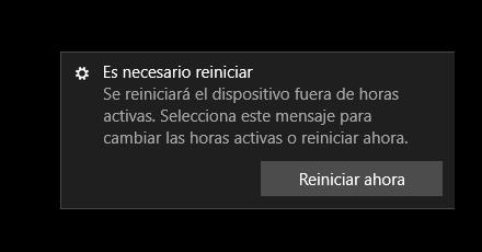 Reiniciar Windows cuando esté inactivo