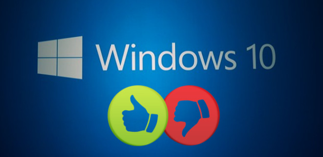 Windows 10 a favor en contra