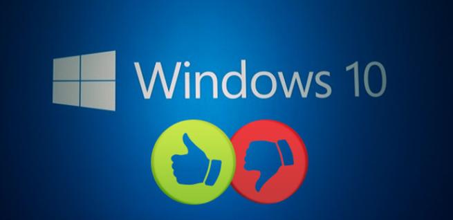 Windows 10 a favor en contra