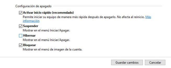 Hibernar Windows 10