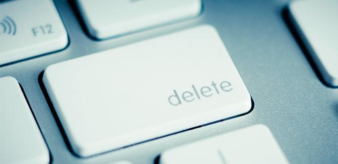 Borrar archivos antiguos