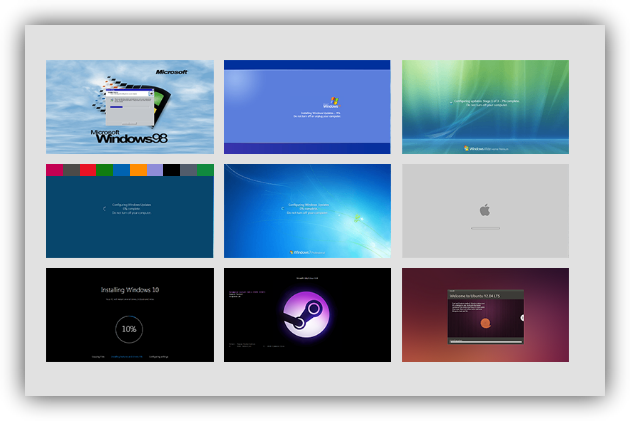 fake Windows Update Prank
