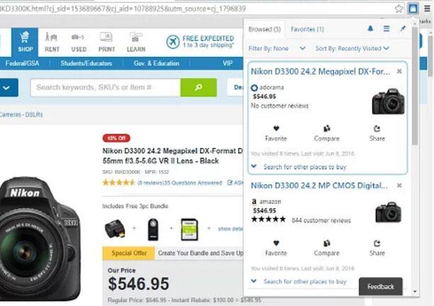 Mejor precio en tus compras online