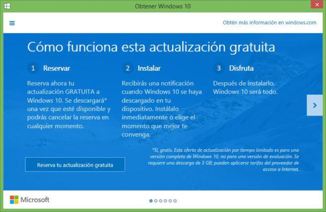 Obtener Windows 10